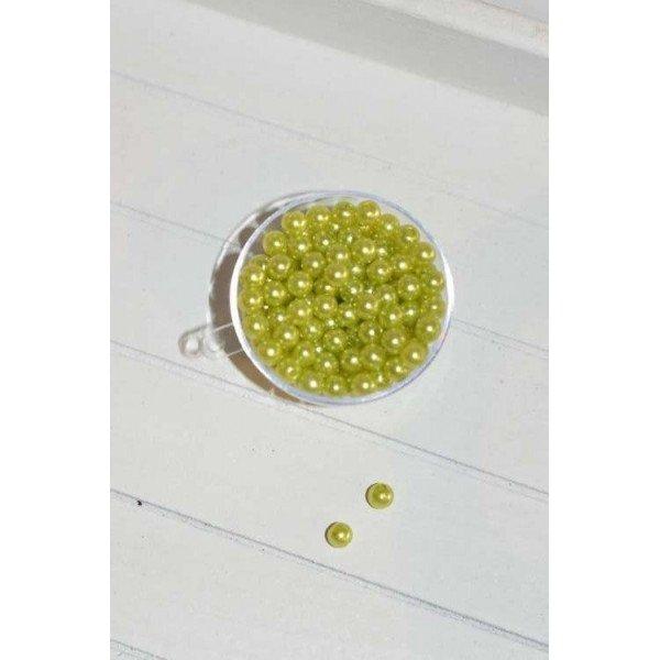 Perle vert anis decoration de table verte for Perle decoration