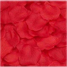 Pétales de roses mariage rouge (sachet de 100)