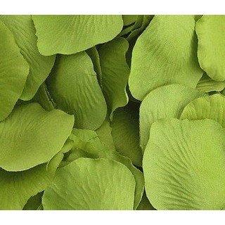 Pétales de roses mariage Vert anis (sachet de 100)