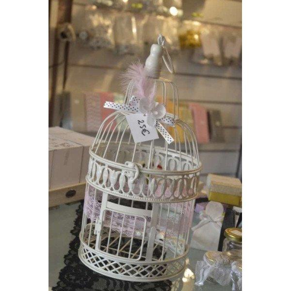 Cage oiseau une urne de mariage originale - Petite cage oiseau deco ...