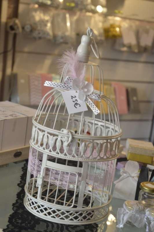 cage oiseau une urne de mariage originale - Urne Mariage Cage Oiseau