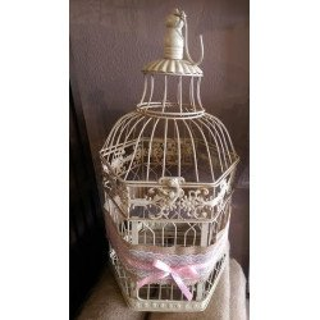 urne cage oiseau grand modèle