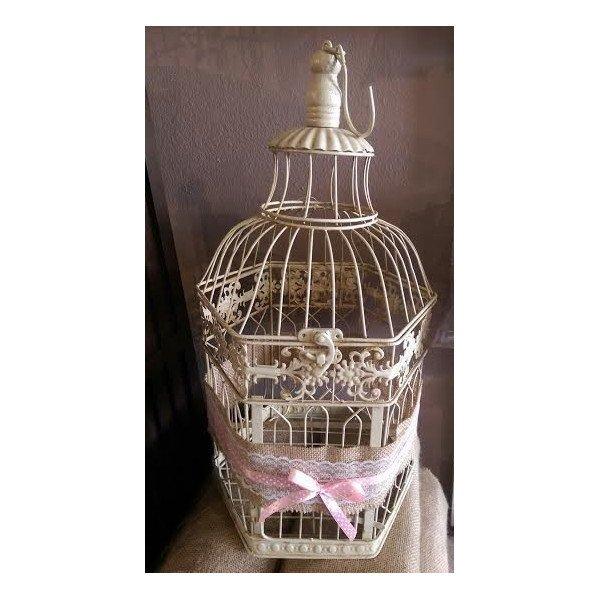 Cage oiseaux mariage pas cher - Cage deco pas cher ...