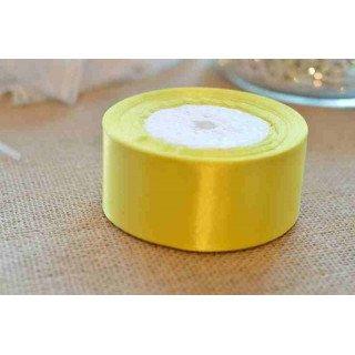 ruban jaune citron 4cmx20m