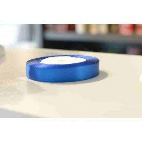 ruban satin bleu roi 15mmx20m