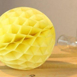 Boule alvéolée papier 20cm