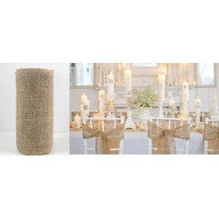 pochon en jute mariage rustique. Black Bedroom Furniture Sets. Home Design Ideas