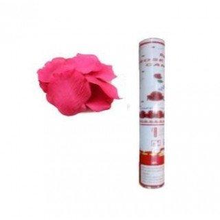 Canon à pétales de rose fushia
