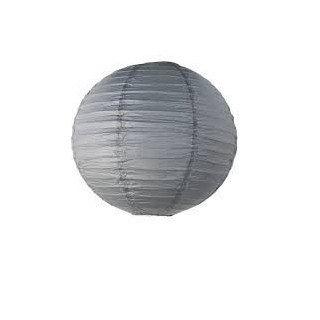 BOULE GRISE 30CM