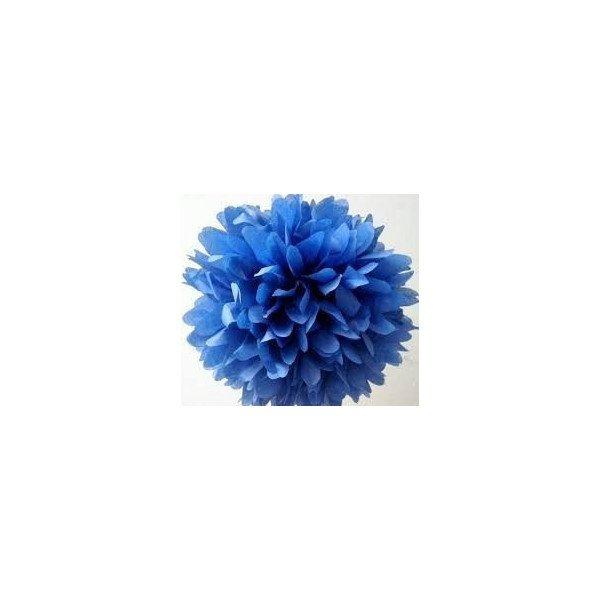 fleur papier de soie mariage bleu 20cm. Black Bedroom Furniture Sets. Home Design Ideas