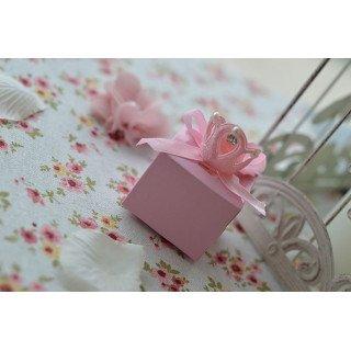 Boite dragée  rose