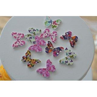 Papillon boisX10
