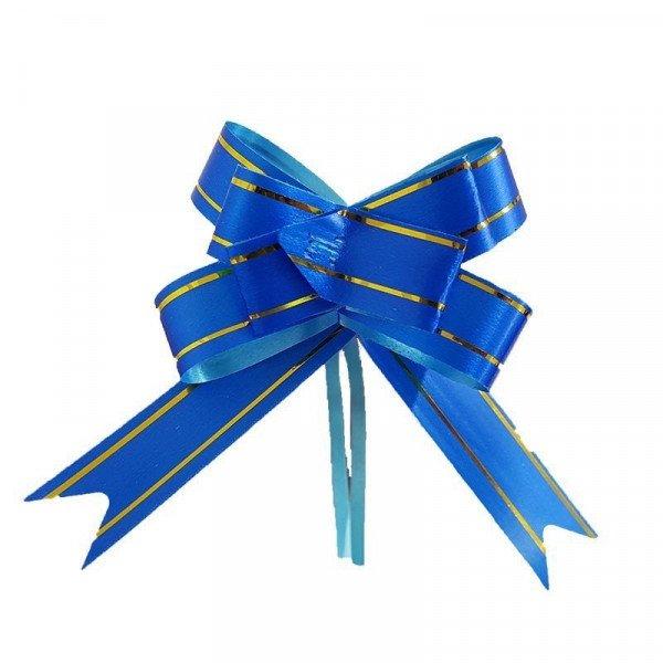 Noeud automatique bleu roi (x10)