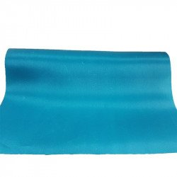 Chemin de table satin turquoise