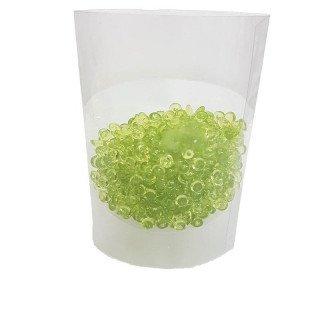 Perles de pluie vert anis 7mm (boite de 80g)