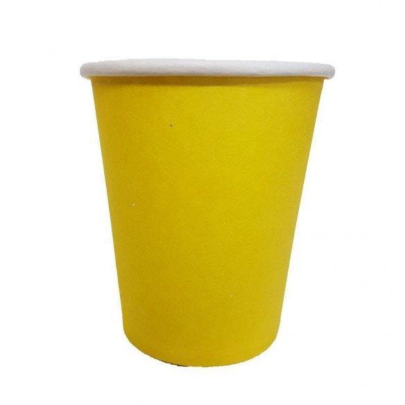 Gobelet jaune X10