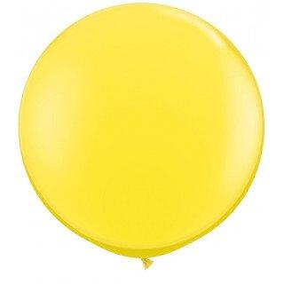 Ballon géant  jaune 70cm