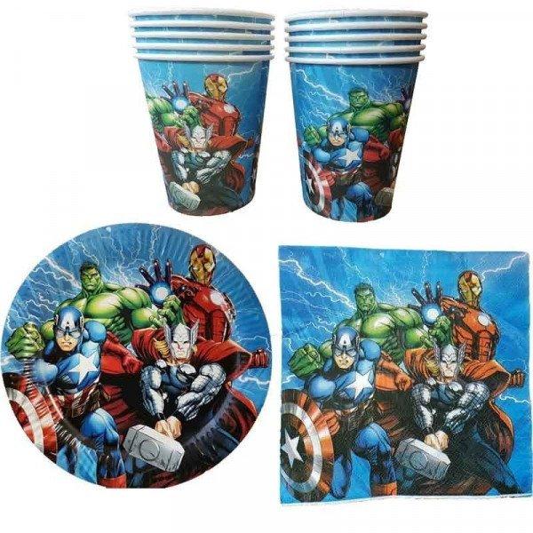 Kit anniversaire Avengers