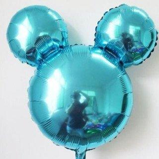 Ballon mickey bleu 45cm