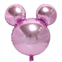 Ballon mickey rose 45cm