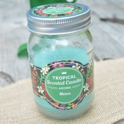 Bougie tropical senteur melon