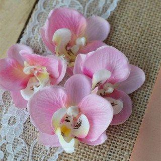 Fleuron d'orchidées X10 (7 coloris)