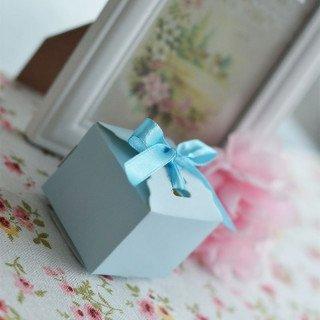 Boite dragée  bleu