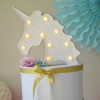 Licorne lumineuse led