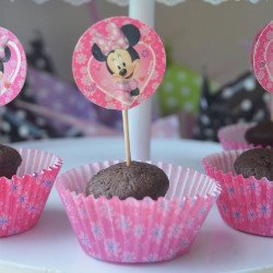 Set cupcake + pic Mickey