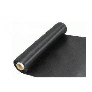 chemin de table satin noir 30cmx10m