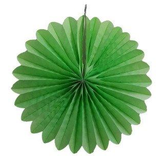 Rosace papier vert anis 30cm