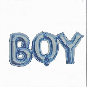 Ballon géant  boy bleu baby shower