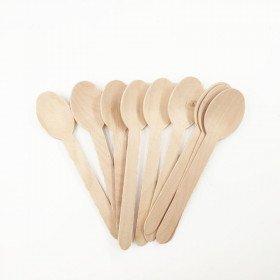 10 cuillères en bois