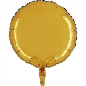 Ballon mylar rond or 45cm