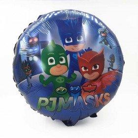 Ballon mylar rond Pyjamasques