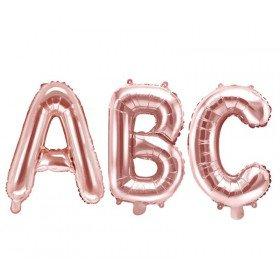 Ballon lettre rose gold  30cm