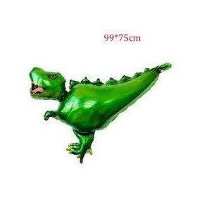 Ballon mylar dinosaure velociraptor
