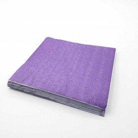 Serviette papier violet X20