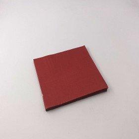 Serviette papier bordeaux  X20