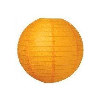 Boule Lampion papier orange clair 40cm