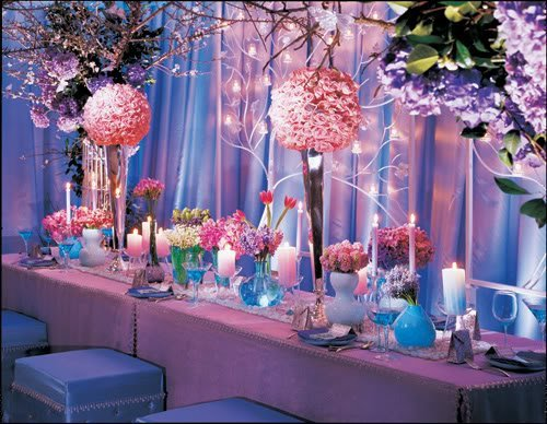 Pink And Blue Wedding Theme Ideas Image Collections
