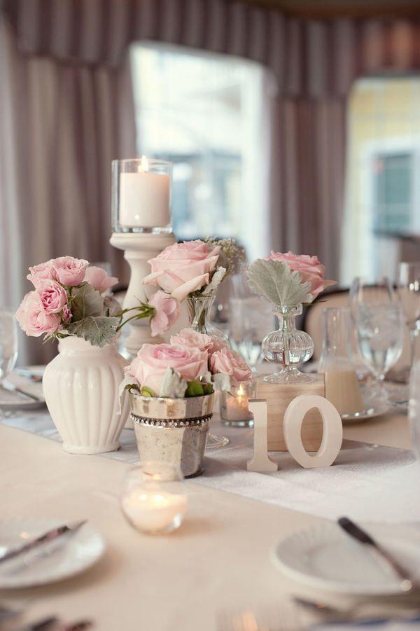d coration de mariage rose et gris tendance boutik blog. Black Bedroom Furniture Sets. Home Design Ideas