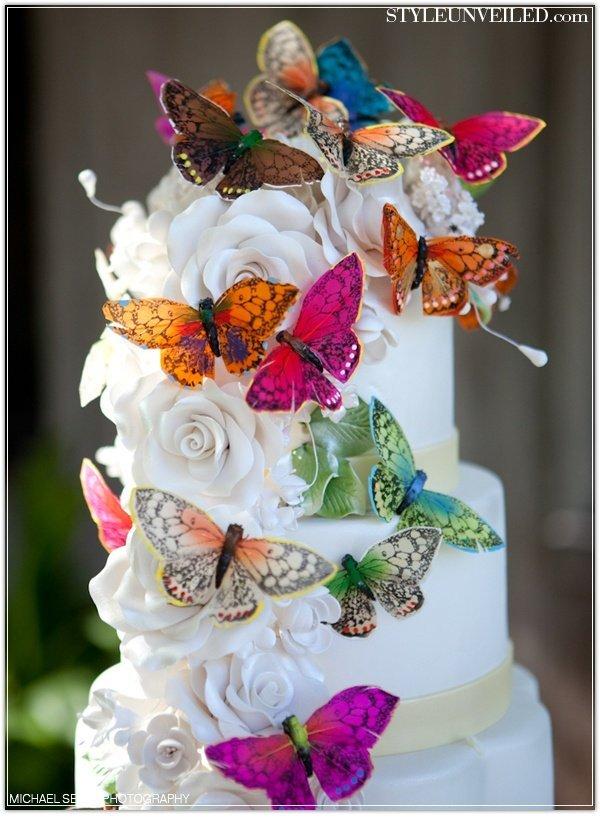 Mariage th me papillon champ tre blog detendance boutik - Decoration gateau papillon ...