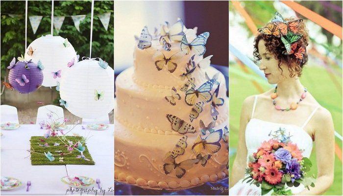 Mariage th me papillon champ tre blog detendance boutik vente d 39 articles de decoration de - Decoration de table theme papillon ...