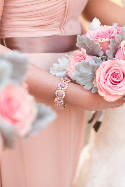Mariage rose et gris blog detendance boutik vente d for Article de decoration