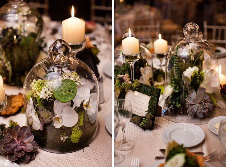 Deco pour table de mariage archives blog detendance - Decoration de table nature ...