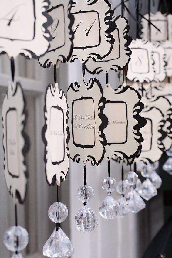 Mariage vert noir archives blog detendance boutik vente d 39 articles de - Plan de table mariage baroque ...
