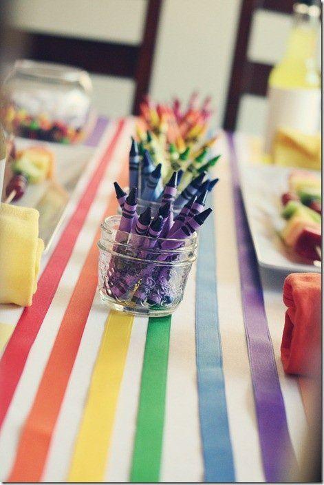 D co mariage multicolore archives blog detendance boutik - Set de table multicolore ...