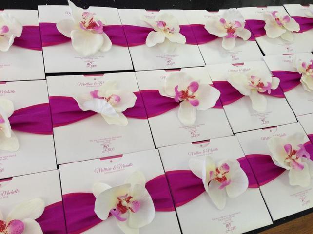 Fleuron d 39 orchid e pour mariage pas cher blog detendance for Article de decoration