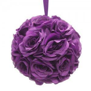 boule-de-fleur-mariage-violet
